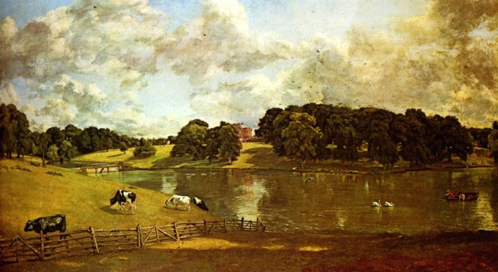 Парк Уайвенхо - Джон Констебл (1816)