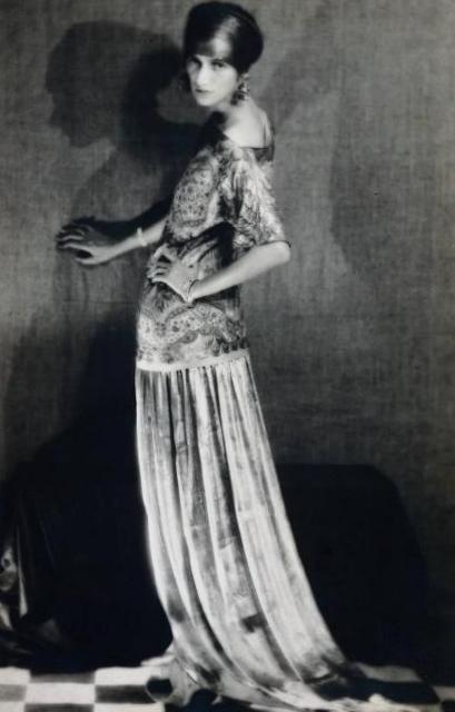 Пегги Гуггенхайм - Ман Рэй (1924)
