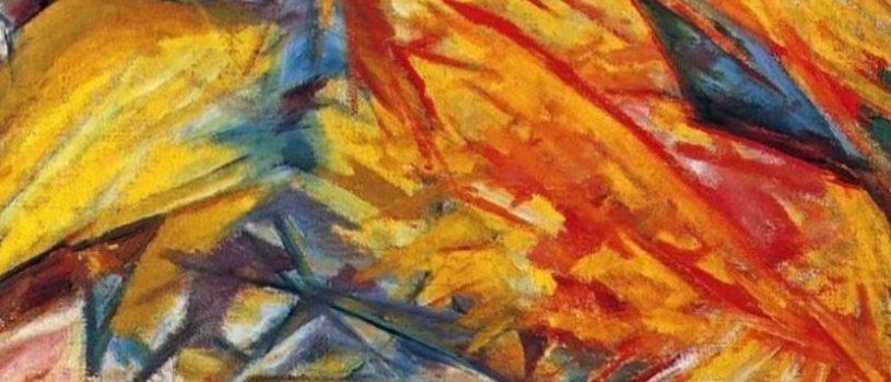 Лучизм в картинах  Михаила Ларионова