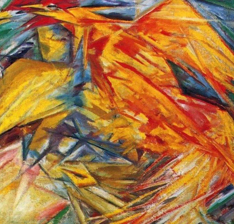 Петух и курица - Михаил Федорович Ларионов ()