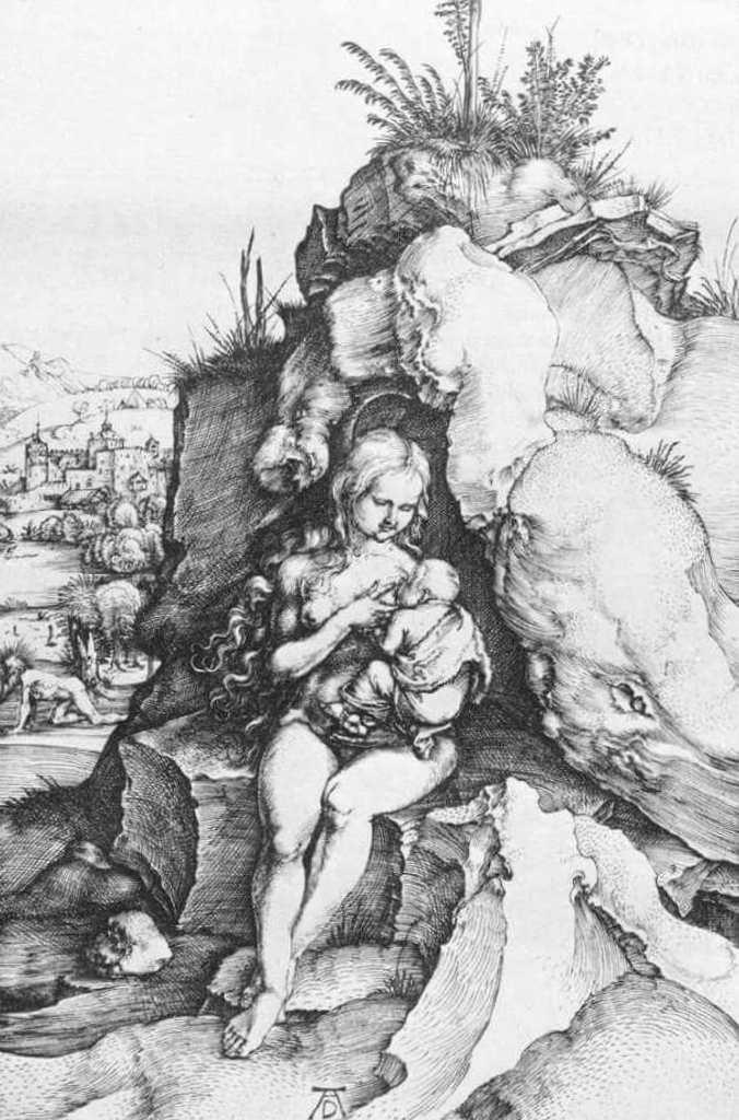 Покаяние Иоанна Златоуста - Альбрехт Дюре (1496)