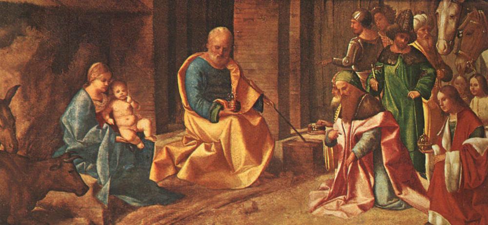 Поклонение королей - Джорджоне (1506)