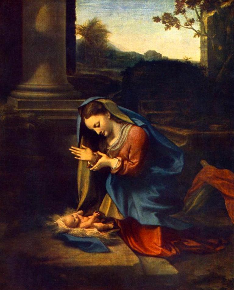 Поклонение младенцу (1518-1520)