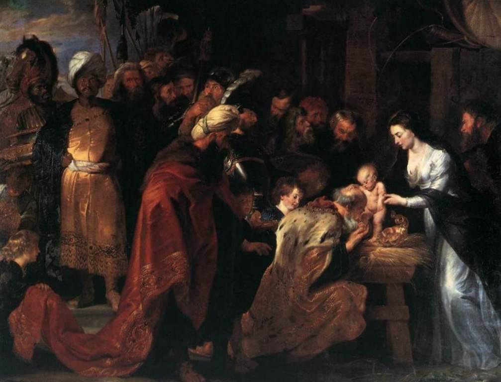 Поклонение волхвов - Питер Пауль Рубенс (1618 - 1619 , Прадо, Мадрид)