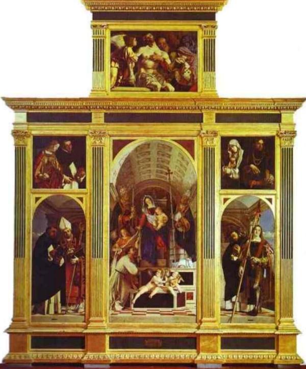 Полиптих Санкт-Доминик - Лоренцо Лотто (1506)