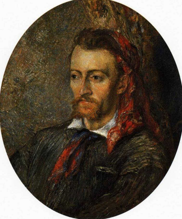 Портрет Евгения Мюрер - Камиль Писсарро (1878)