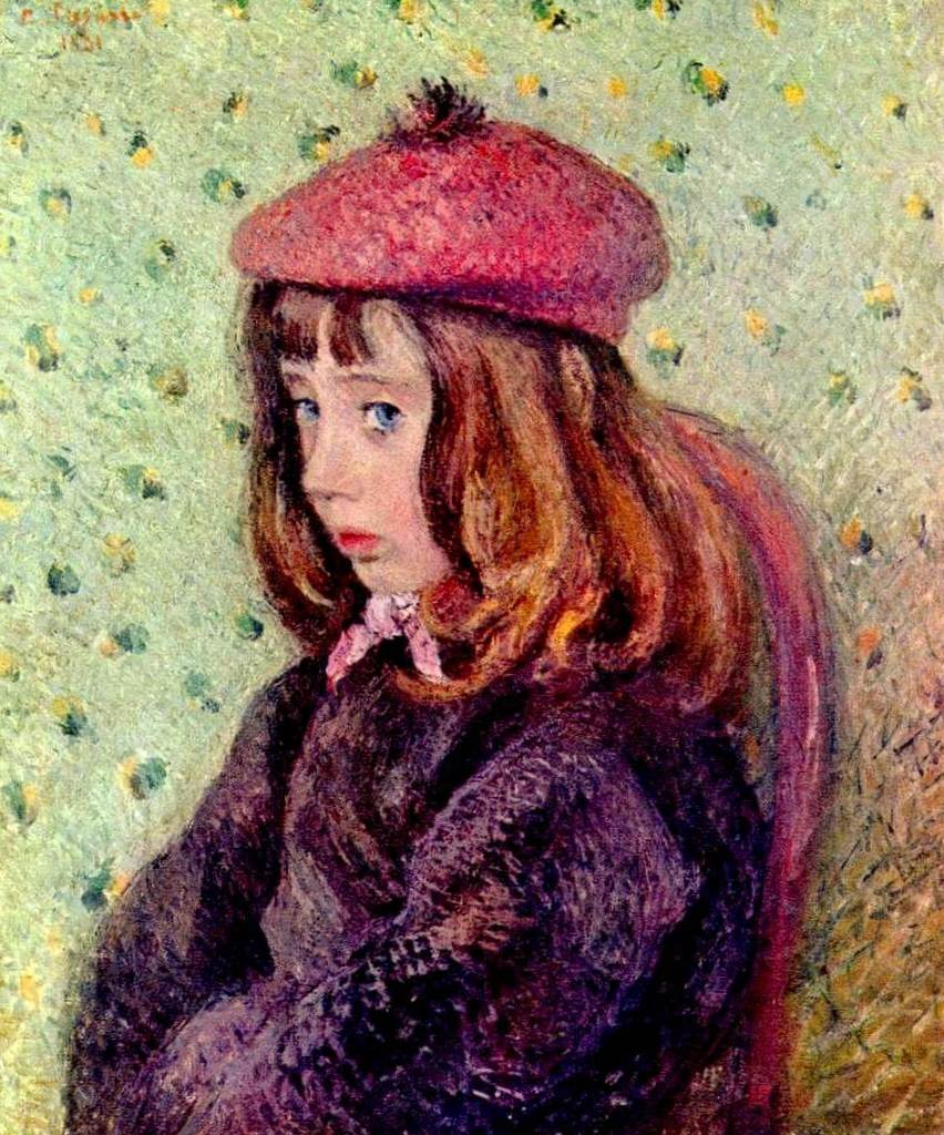 Портрет Феликса Писсарро - Камиль Писсарро (1881)