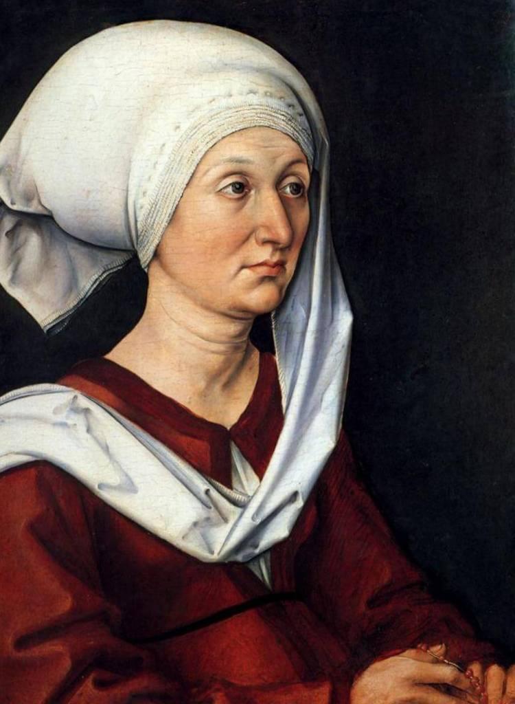 Портрет Варвары - Альбрехт Дюре (1490)