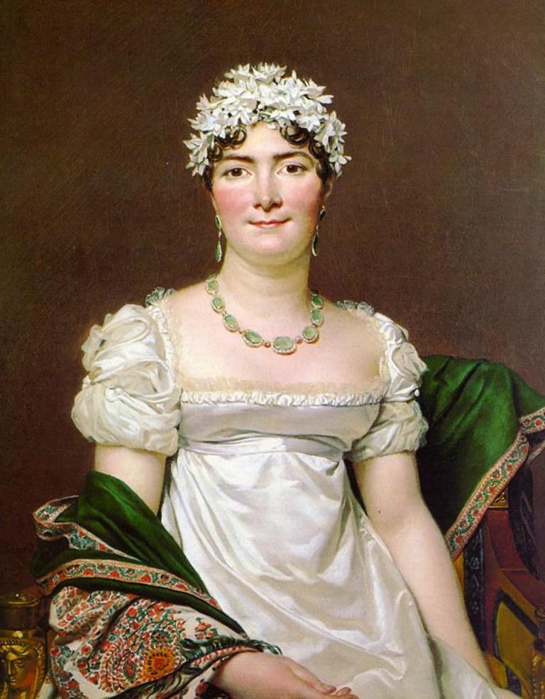 Портрет графини Дарю - Жак Луи Давид (1810)