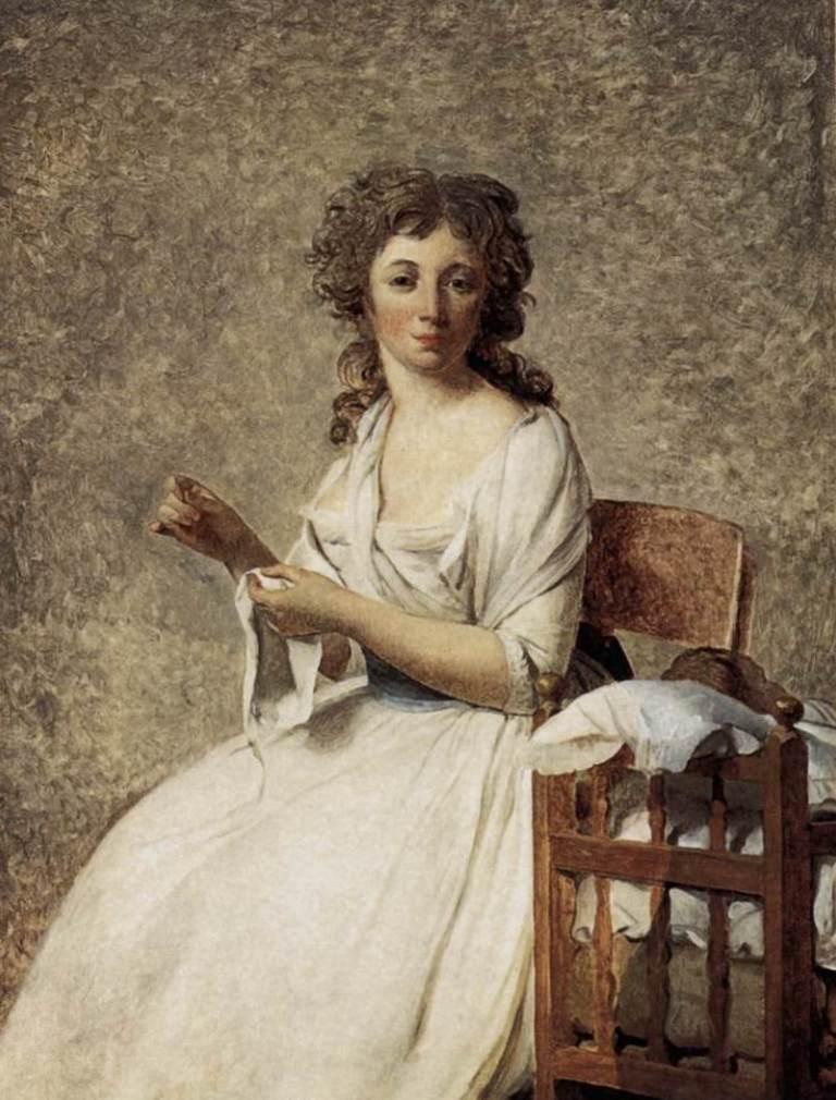 Портрет мадам Аделаиды Пасторе - Жак Луи Давид (1791 - 1792)