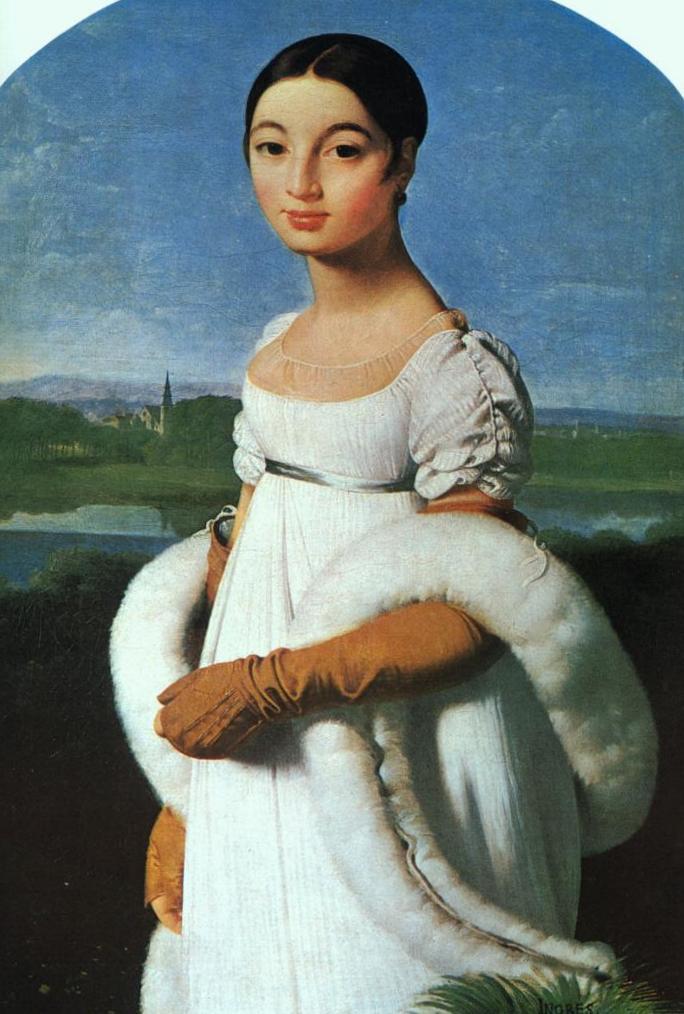 Портрет мадемуазель Ривьер - Жан Огюст Доминик Энгр (1805)