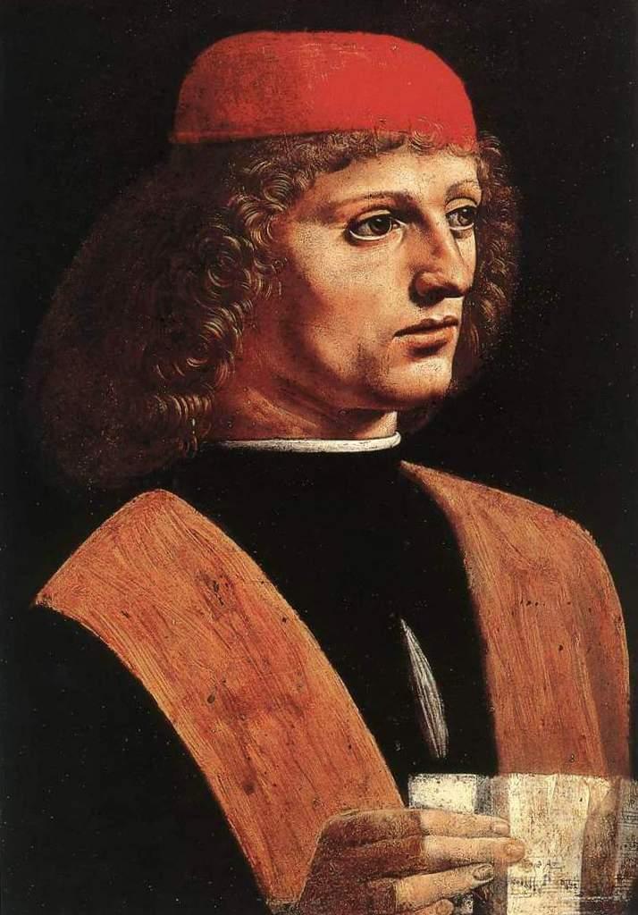 Портрет музыканта - Леонардо да Винчи (1485)