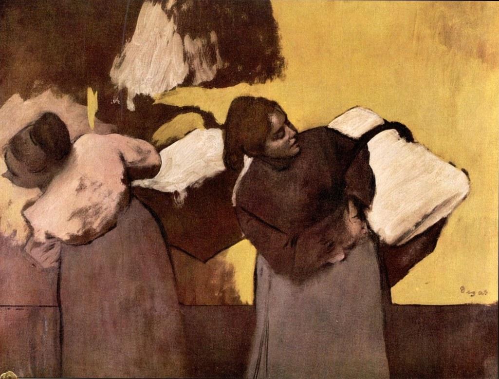 Прачки - Эдгар Дега (1876)