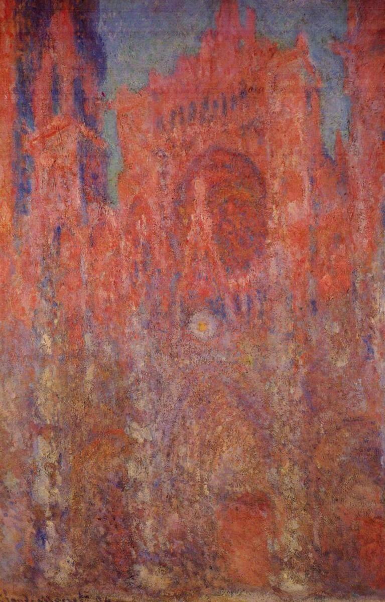 Руанский собор - Клод Моне (1894)