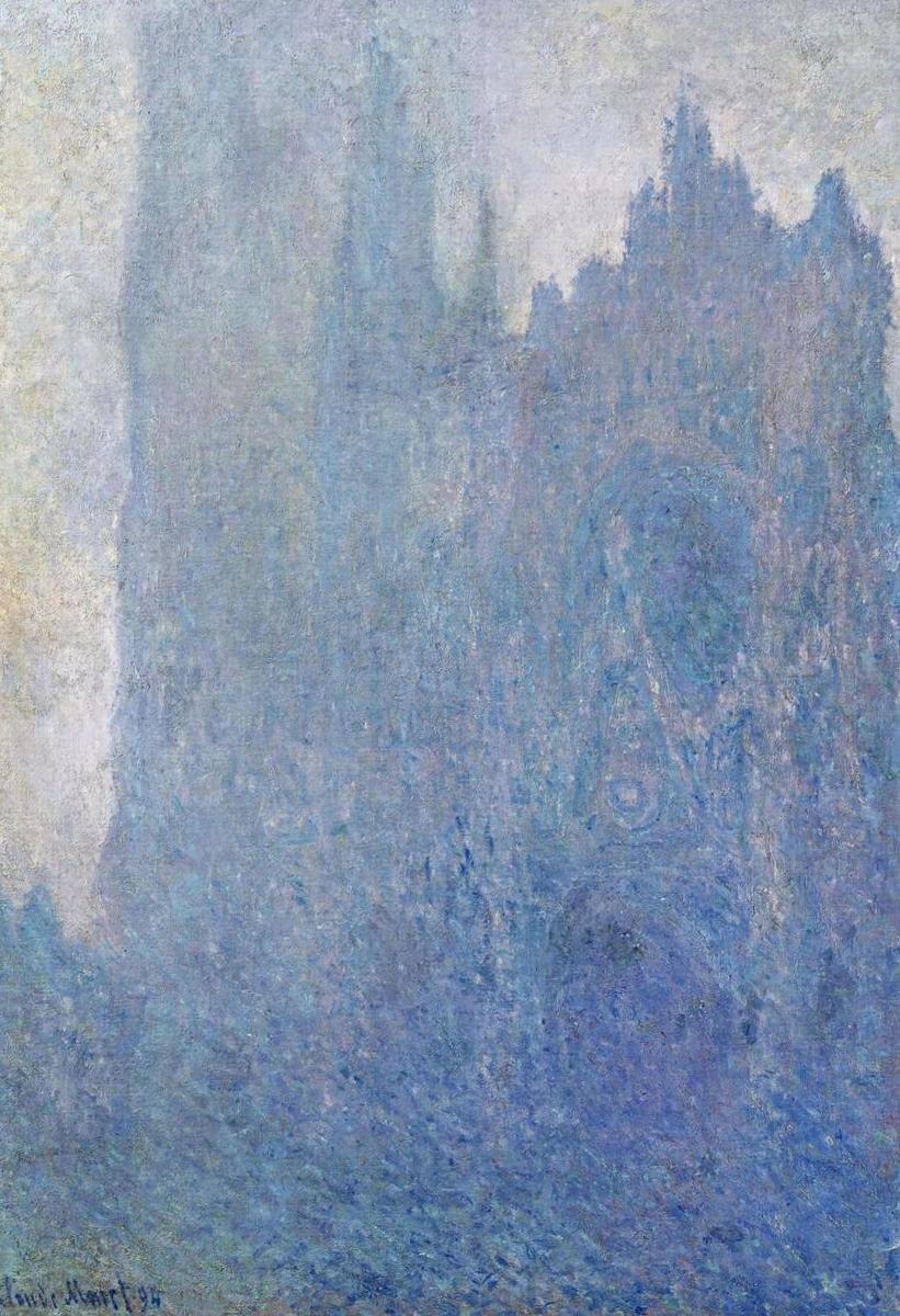 Руанский собор в тумане - Клод Моне (1894)