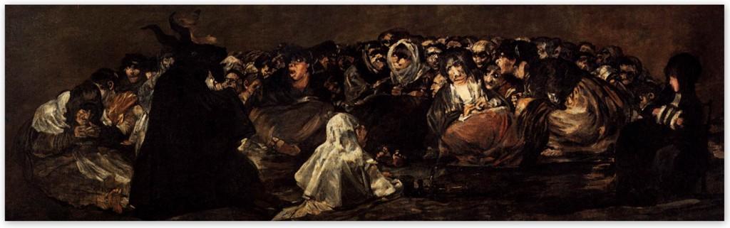 Шабаш ведьм - Франсиско Гойя (1823)