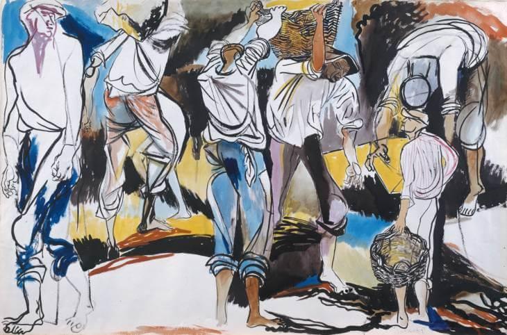 Шахтеры - Ренато Гуттузо (1949)