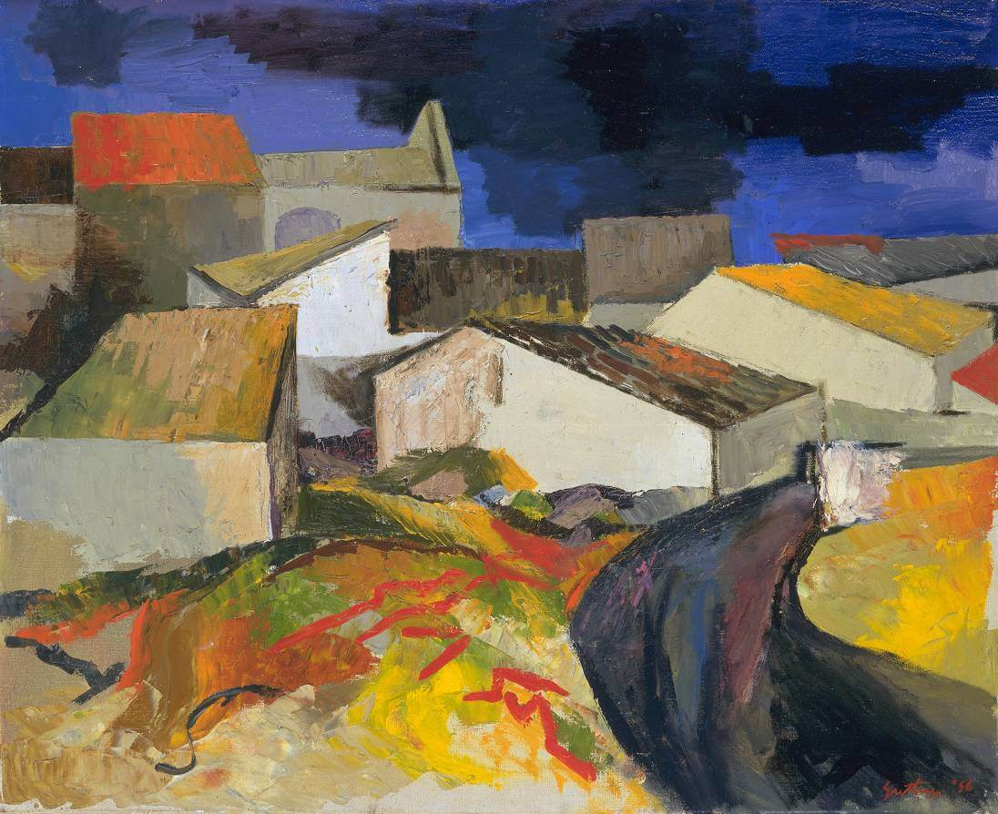 Санта-Панагия (Сицилия) - Ренато Гуттузо (1956)