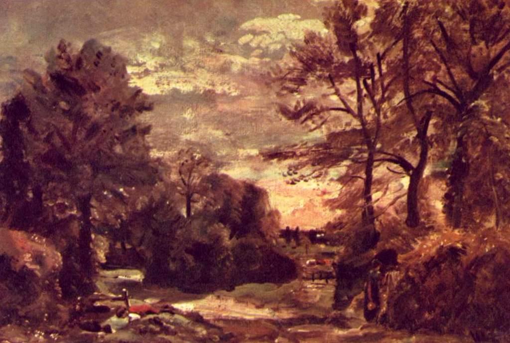 Сельская Дорога - Джон Констебл (1826)