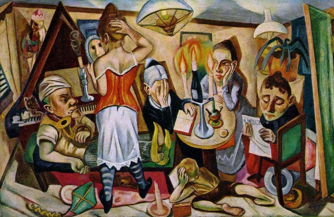 Семейная картина - Макс Бекман(1920)