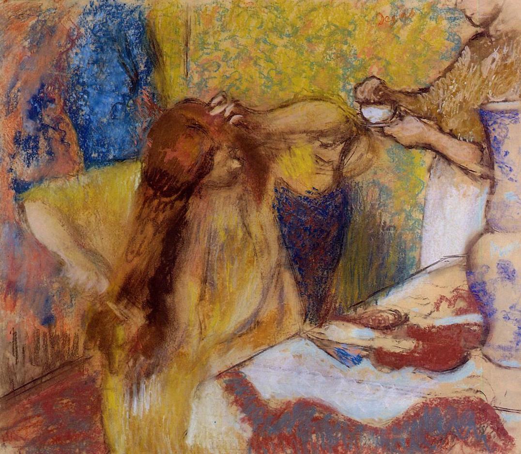 Серия Женщины за туалетом - Эдгар Дега (1869 - 1899)