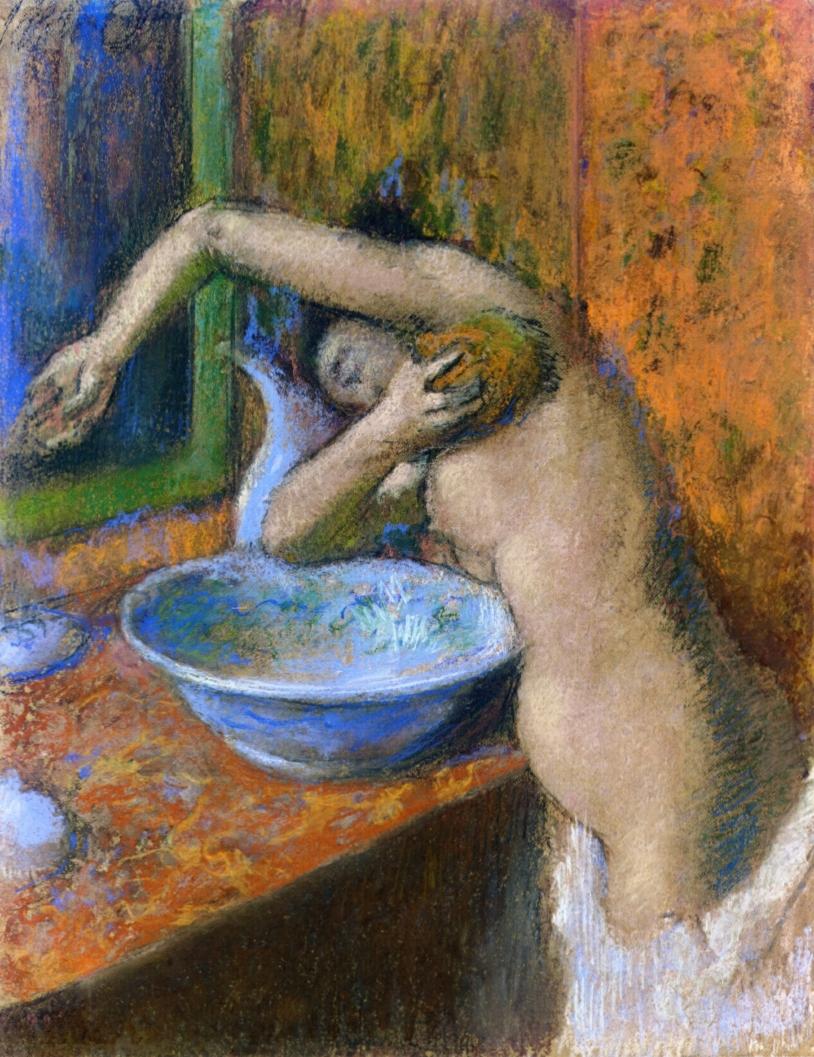 Серия Женщины за туалетом - Эдгар Дега (1892)
