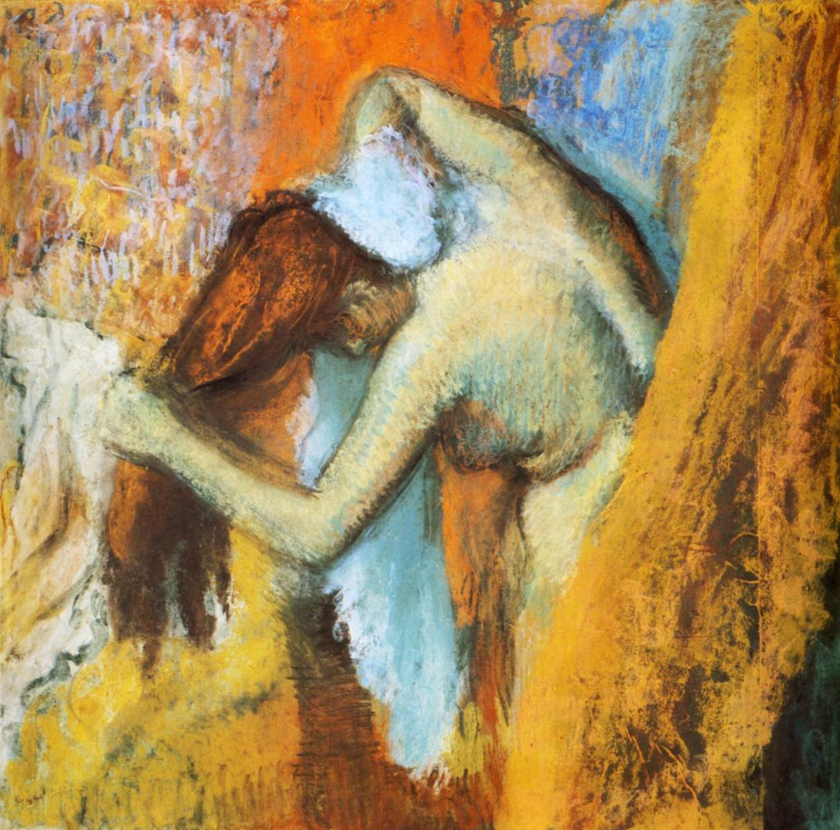 Серия Женщины за туалетом - Эдгар Дега (1905)