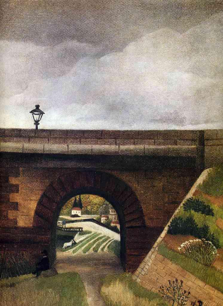 Севрский мост - Анри Руссо(1895)