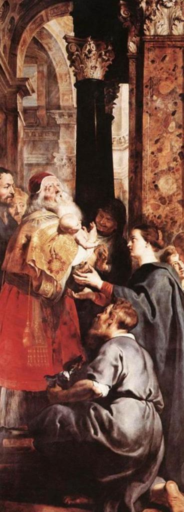 Снятие с креста (правое крыло) - Питер Пауль Рубенс (1612—1614, собор Антверпена)