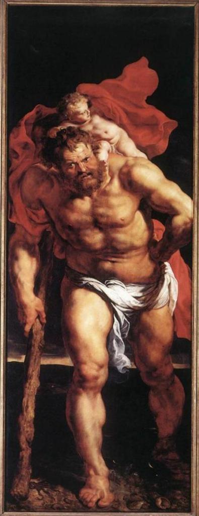 Снятие с креста (снаружи слева) - Питер Пауль Рубенс (1612—1614, собор Антверпена)
