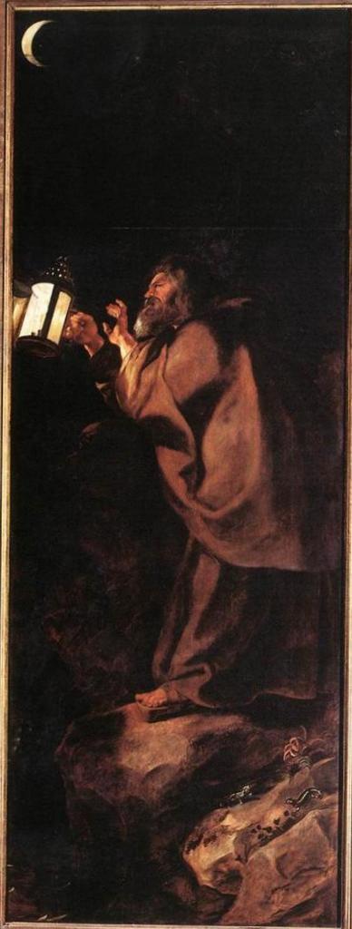 Снятие с креста (снаружи справа) - Питер Пауль Рубенс (1612—1614, собор Антверпена)