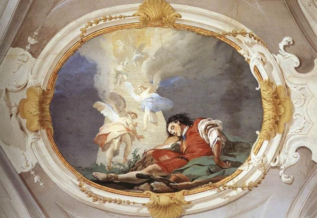 Сон Иакова - Джованни Баттиста Тьеполо (1726 - 1729)