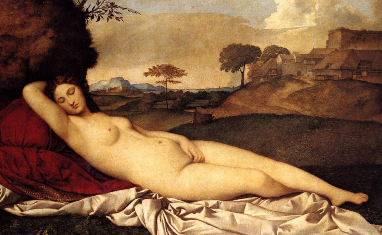 Спящая Венера - Джорджоне (1508-1510)