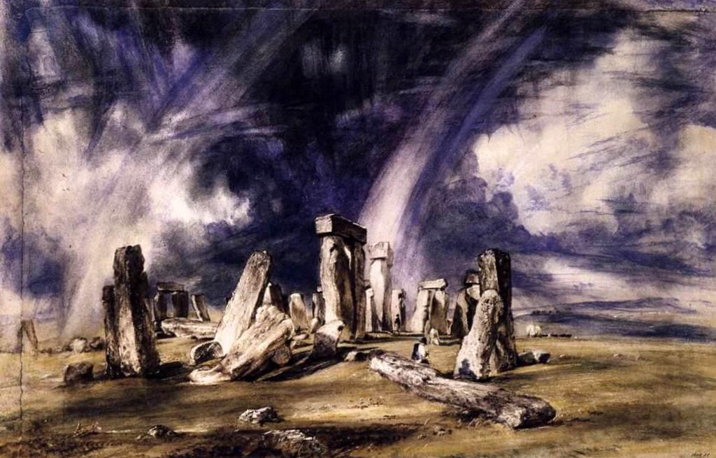 Стоунхендж - Джон Констебл (1835)