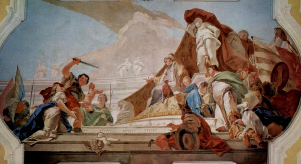 Суд Соломона - Джованни Баттиста Тьеполо (1726 - 1728)