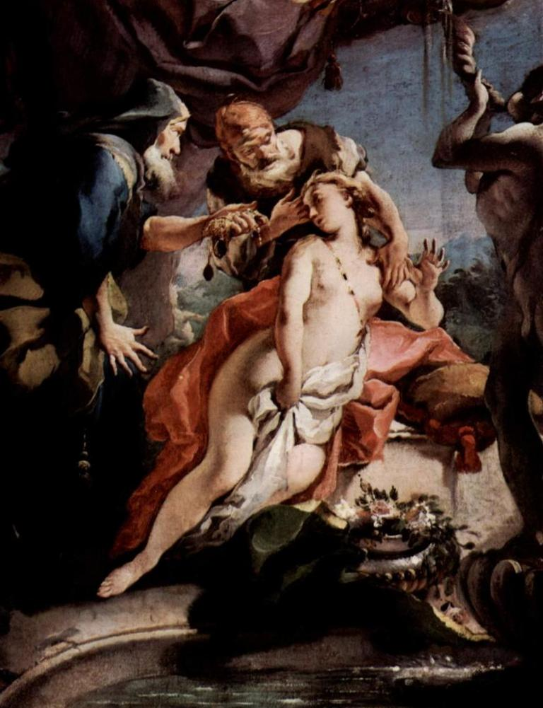 Сусанна и старцы - Джованни Баттиста Тьеполо (1722 - 1723)