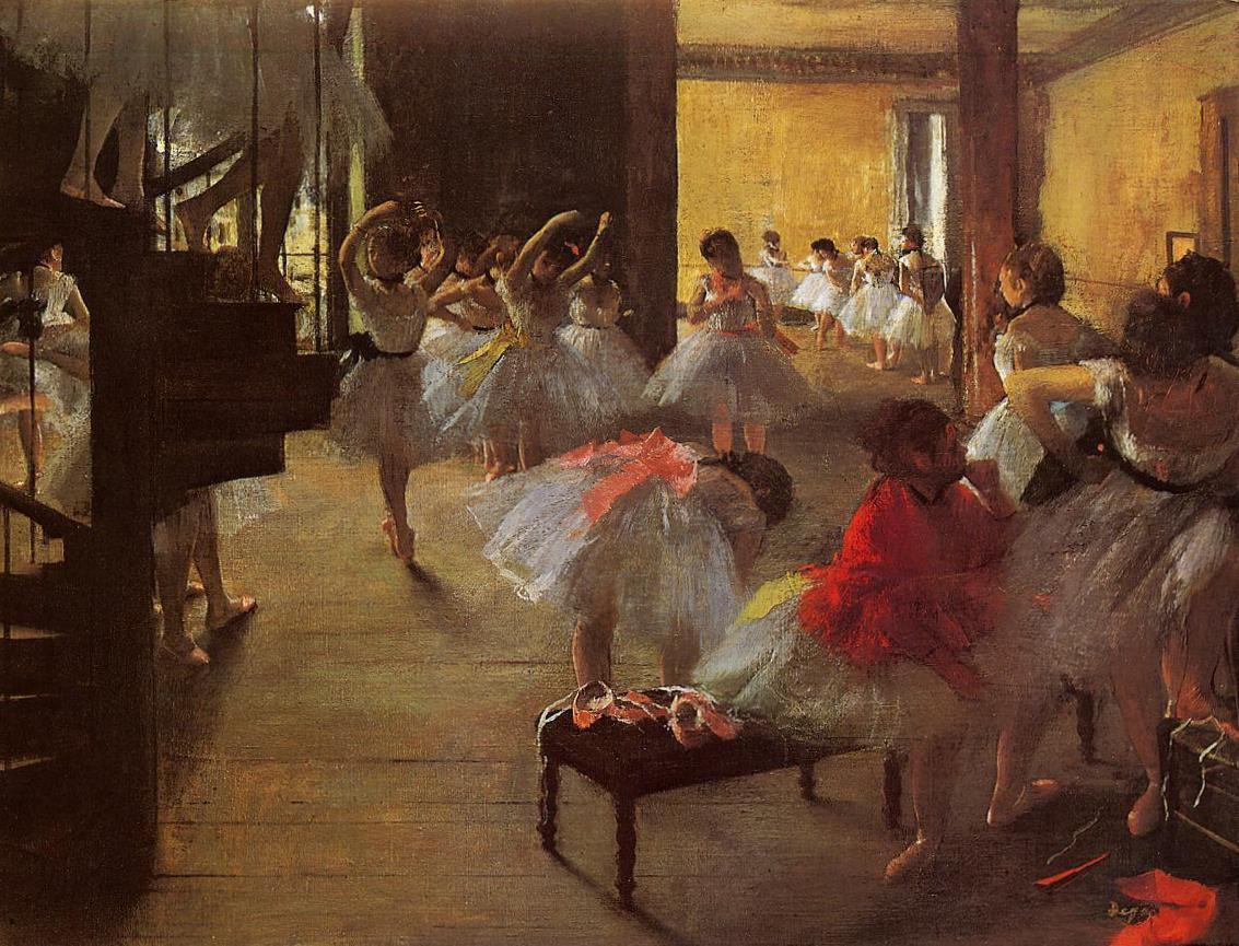 Танцевальный класс - Эдгар Дега (1873)