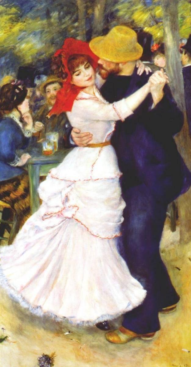 Танец в Буживале - Пьер Огюст Ренуар (1883)