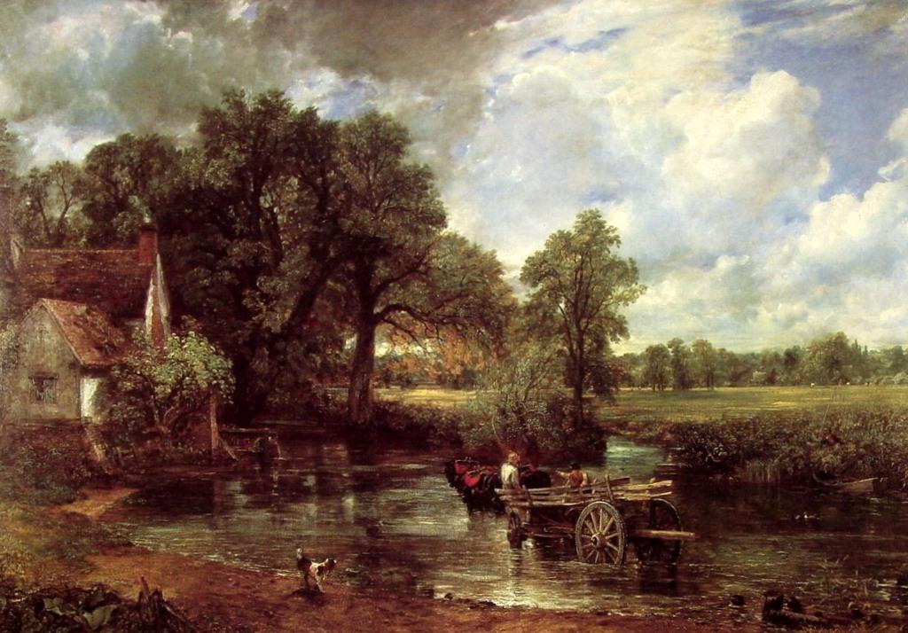 Телега для сена - Джон Констебл (1821, Национальная галерея, Лондон)