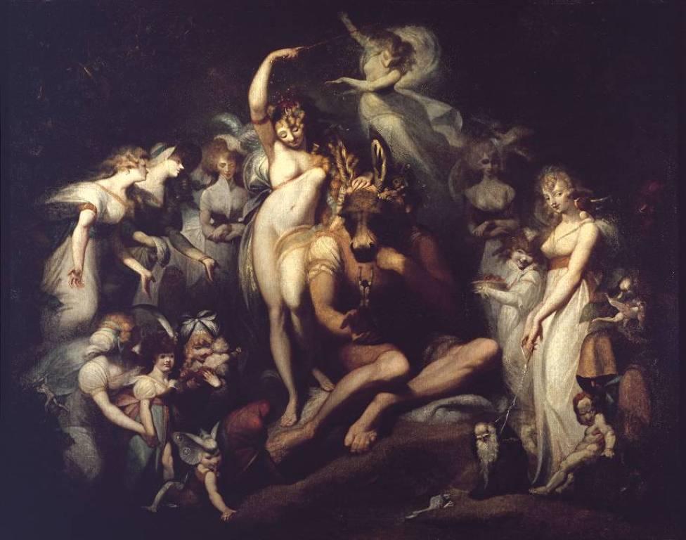 Титания и Основа - Генриха Фюcсли (1790)
