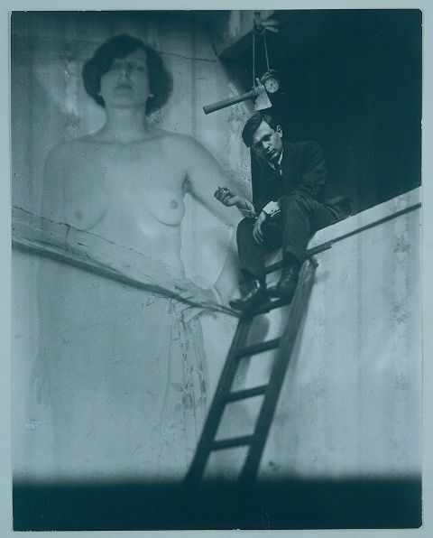 Тристан Тцара - Ман Рэй (1921)