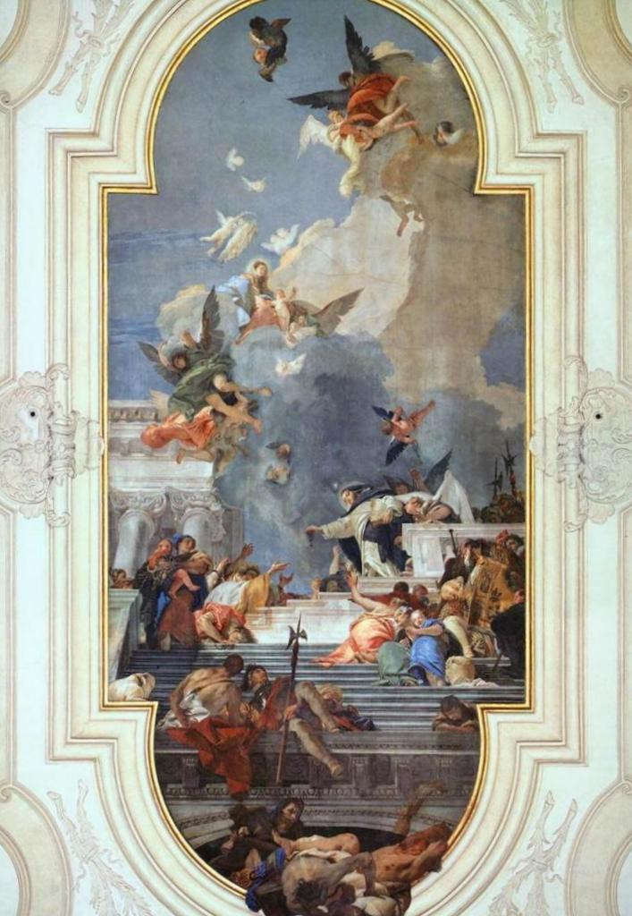 Учреждение Розария - Джованни Баттиста Тьеполо (1737 - 1739)