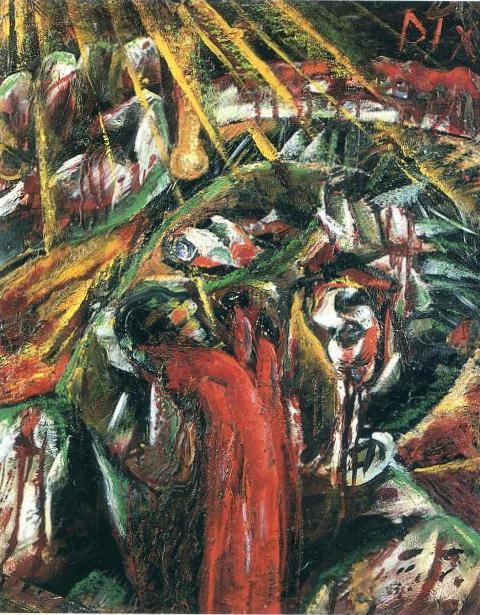 Умирающий солдат - Отто Дикс (1915)