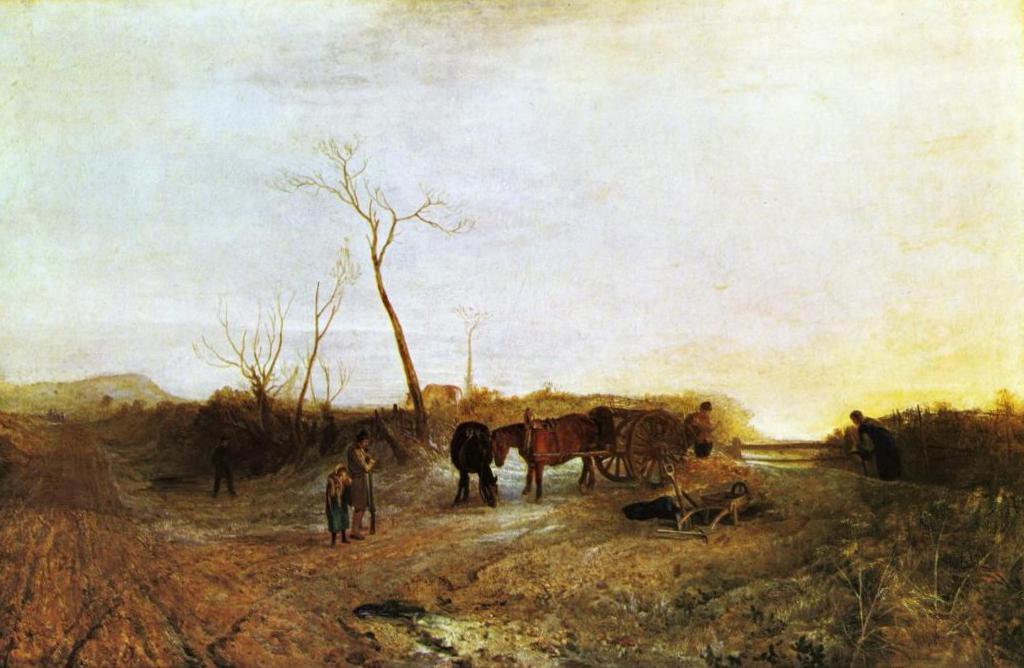 Утренний иней - Уильям Тёрнер (1813, Национальная галерея, Лондон)