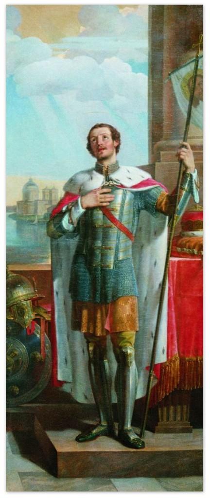 Василий Козьмич Шебуев - Александр Невский (1836, Государственный Русский музей)