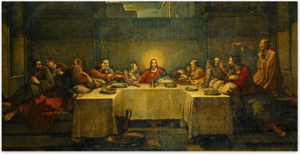 Василий Козьмич Шебуев - Тайная вечеря (1838, Государственная Третьяковская галерея, Москва)