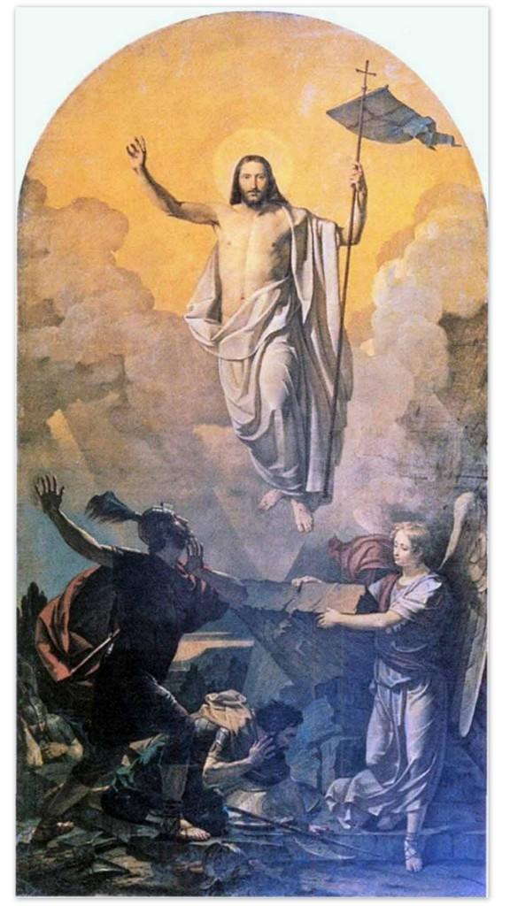 Василий Козьмич Шебуев - Воскресение Христа (1841, Государственный Русский музей)