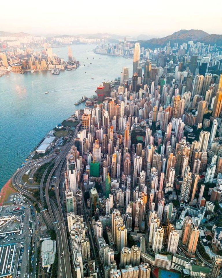 Вдохновляющие фотографии городов 2 - Виктор Ченг (Гонконг)