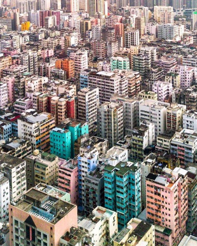 Вдохновляющие фотографии городов - Виктор Ченг (Гонконг)