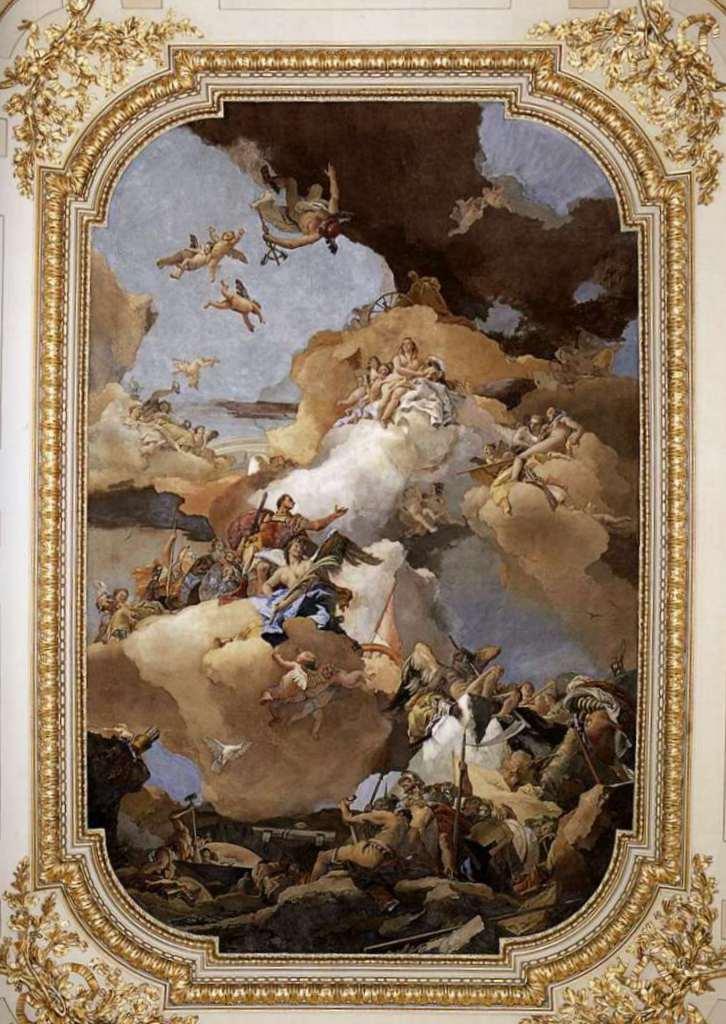 Венера и Вулкан - Джованни Баттиста Тьеполо (1762 - 1766)